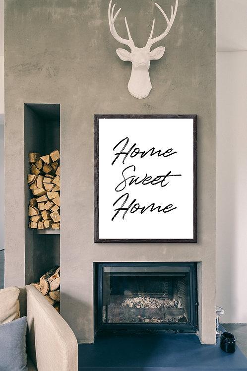 Home Sweet Home - Large wall art