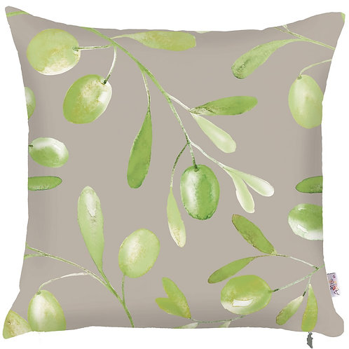 Pillow Cover - Olives on Grey - 502-8320/1