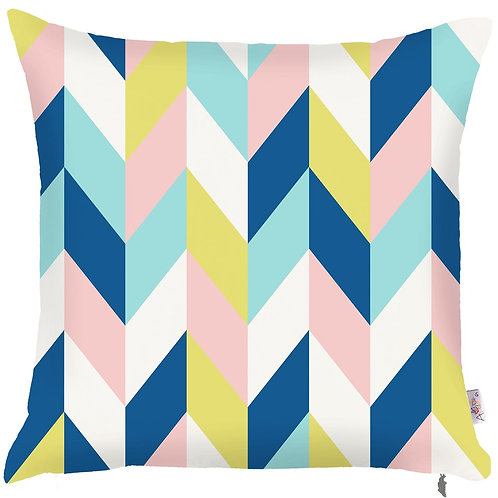 Pillow Cover - Colorful Pattern - 502-8233/1