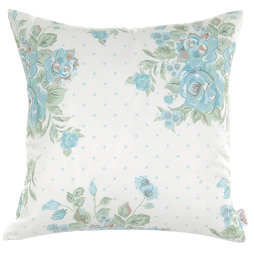 Pillow Cover - Blue Flowers - 502-8616/1