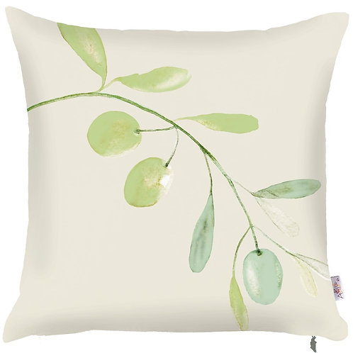 Pillow Cover - Olives on Cream - 502-8325/1