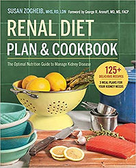 Renal Diet Plan & Cookbook for people with CKD
