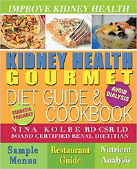 CDK Cookbook for those with kidney disease or diabetic