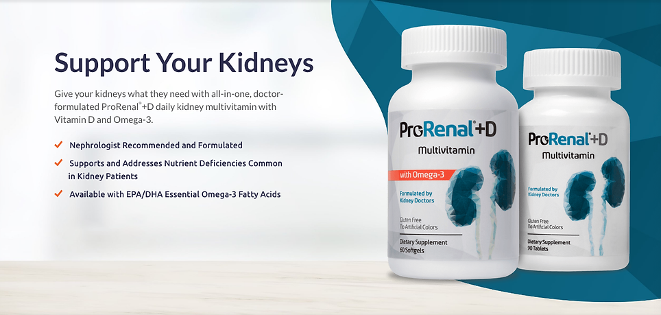 ProRenal+D Support Your Kidney Health