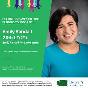 Emily Randall (26th LD-D)