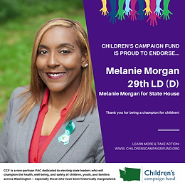 Rep. Melanie Morgan (D)