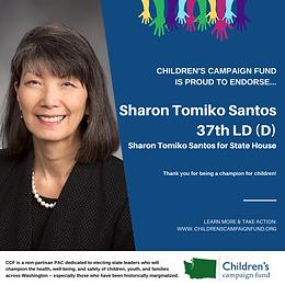 Rep. Sharon Tomiko Santos (D)