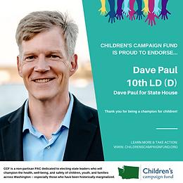 Rep. Dave Paul (D)