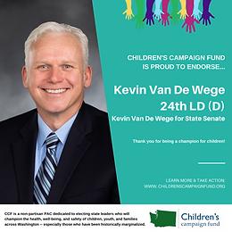 Sen. Kevin Van De Wege (D)
