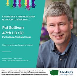 Rep. Pat Sullivan (D)