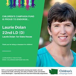Rep. Laurie Dolan (D)