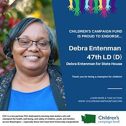 Rep. Debra Entenman (D)