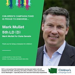 Sen. Mark Mullet (D)