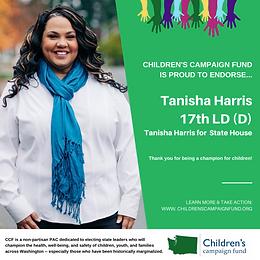 Tanisha Harris (D)