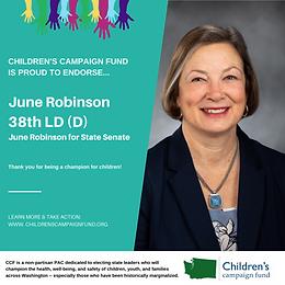 Sen. June Robinson (D)