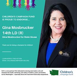 Rep. Gina Mosbrucker (R)
