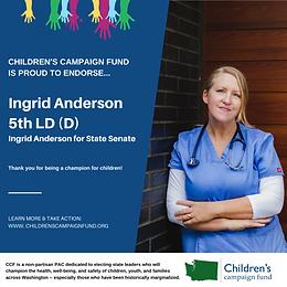 Ingrid Anderson (D)