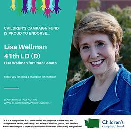 Sen. Lisa Wellman (D)