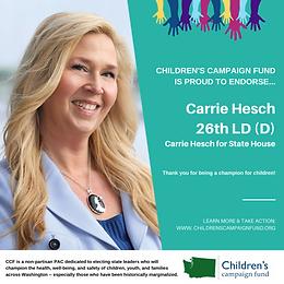 Carrie Hesch (D)