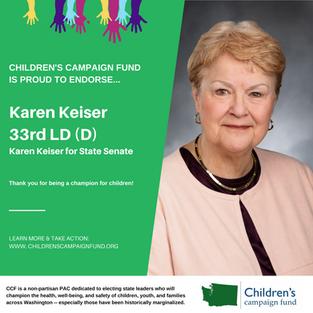 Karen Keiser (33rd LD-D)