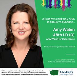 Rep. Amy Walen (D)