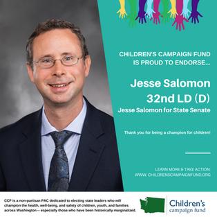 Jesse Salomon (32nd LD-D)