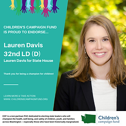 Rep. Lauren Davis (D)