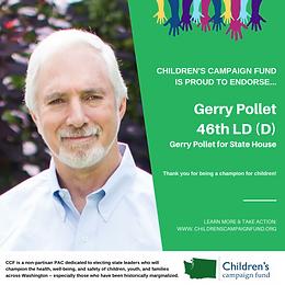 Rep. Gerry Pollet (D)