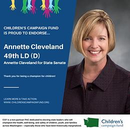 Sen. Annette Cleveland (D)