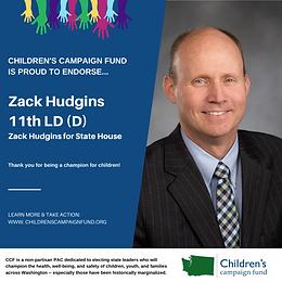 Rep. Zack Hudgins (D)