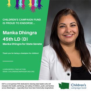 Manka Dhingra (45th LD-D)