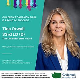 Rep. Tina Orwall (D)