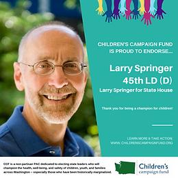 Rep. Larry Springer (D)