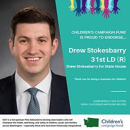 Rep. Drew Stokesbary (R)