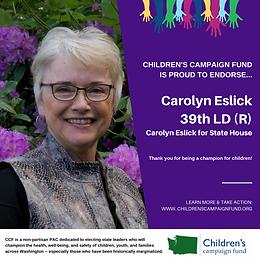 Rep. Carolyn Eslick (R)