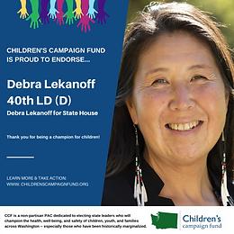 Rep. Debra Lekanoff (D)