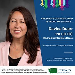Rep. Davina Duerr (D)