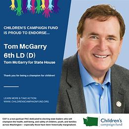 Tom McGarry (D)