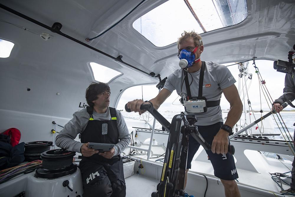 Skipper Tomas Ruyant - Linkedout - Actualmente 3º en la Vendée Globe 2020/21