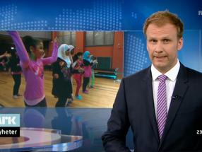 NRK Kveldsnytt: Barn lager scenekunst