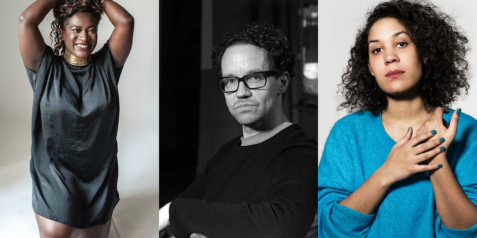 Jeg snakker om det hele tiden: Thelma Buabeng, Camara Joof & Jan Bosse