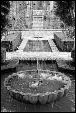 Agua en el Generalife