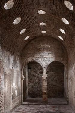 El Bañuelo. Baños árabes del s. XI. Granada