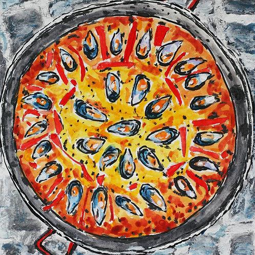Paella Print