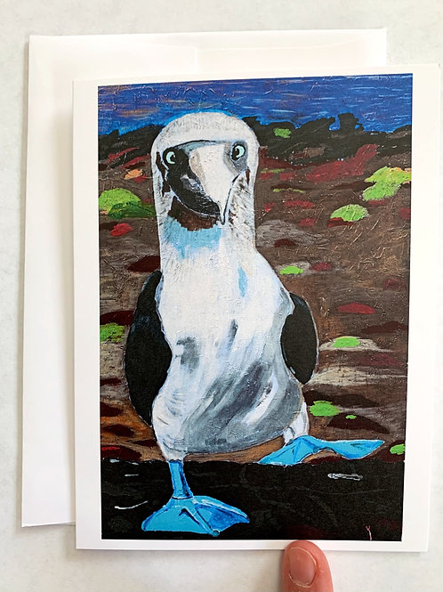 Blue-Footed Booby Stationery