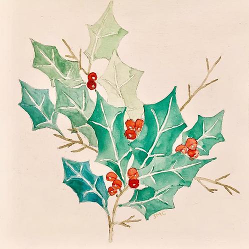 Holly Print