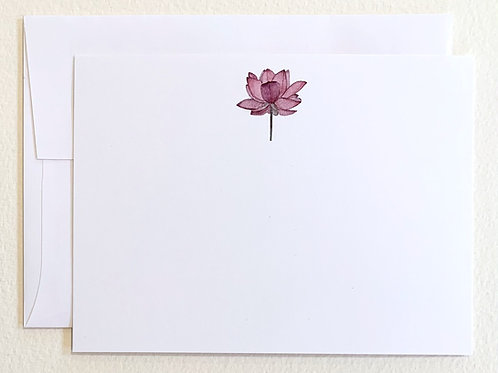 Lotus Stationery