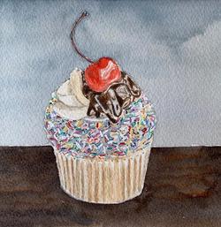 Muddy's Sundae Funday Cupcake