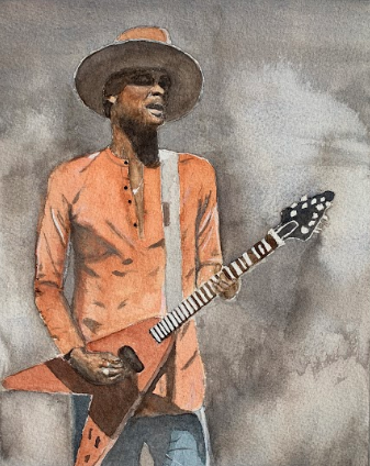 Musician in Texas Gary Clark Jr.
