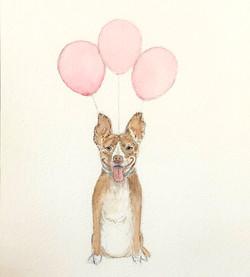 Martha with Balloons